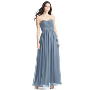 Azazie Kristen Bridesmaid Dress in Dusty Blue